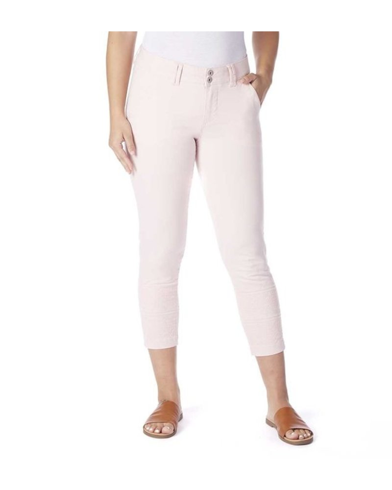 JAG Flora Embroidered Crop Pant