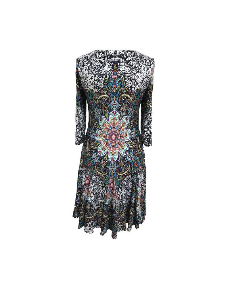 Carre Noir Kaleidoscope Dress