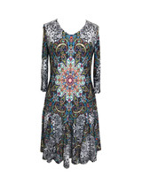 Carre Noir Kaleidoscope Dress
