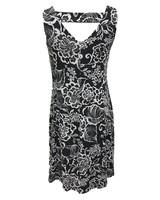Carre Noir Panel Dress