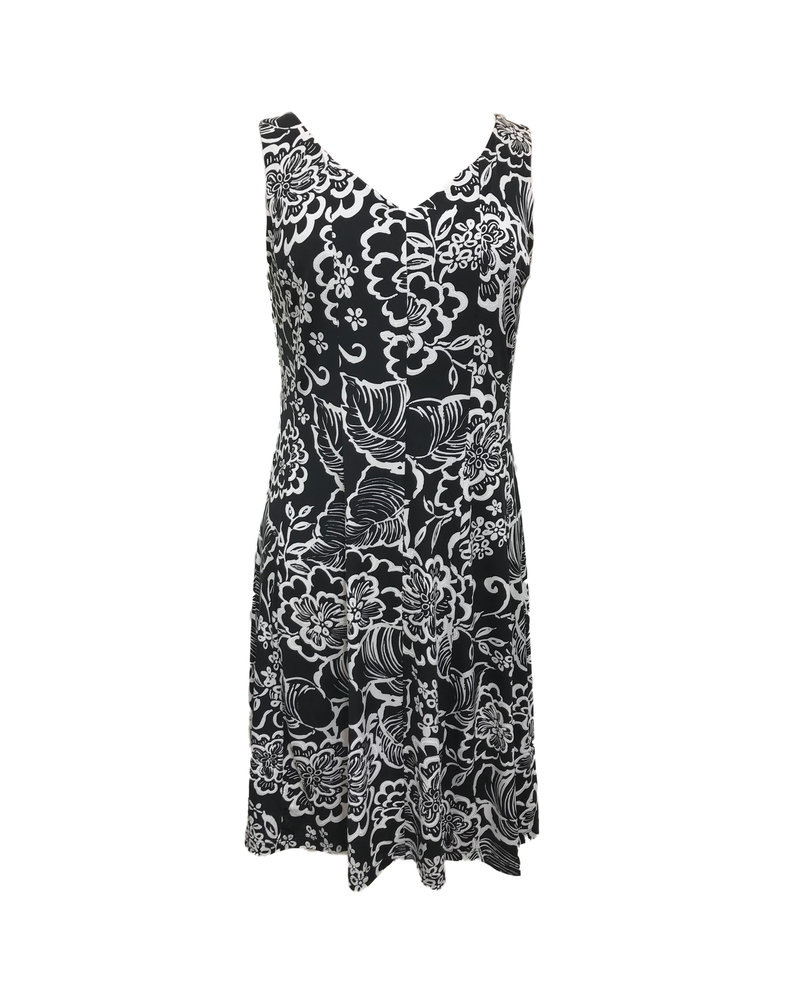 Carre Noir Panel Dress