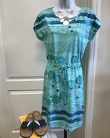 Dolcezza Dolcezza Drawstring Art Dress