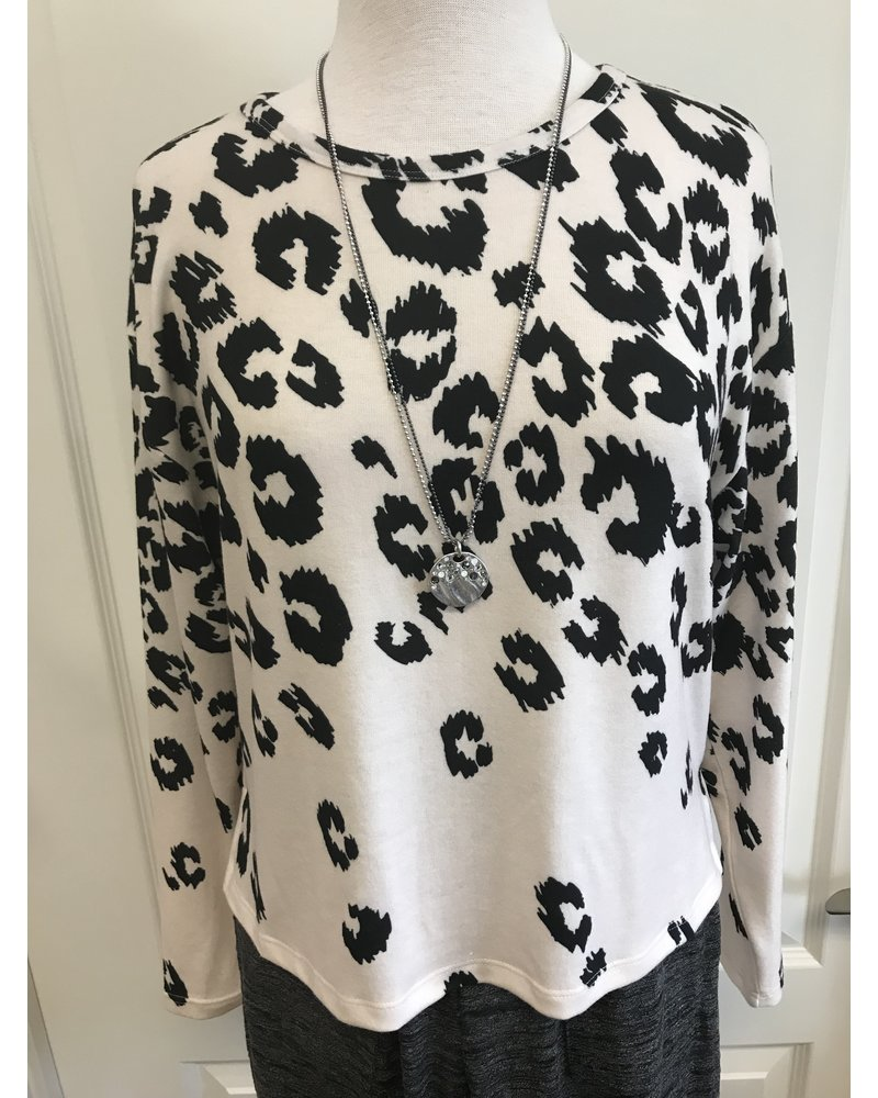 Isle Spotted Animal Print Top