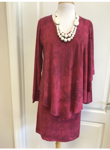 Isle Tiedye Envelope Dress