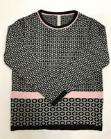 Skovhuus Skovhuus Organic Cotton Pattern Sweater
