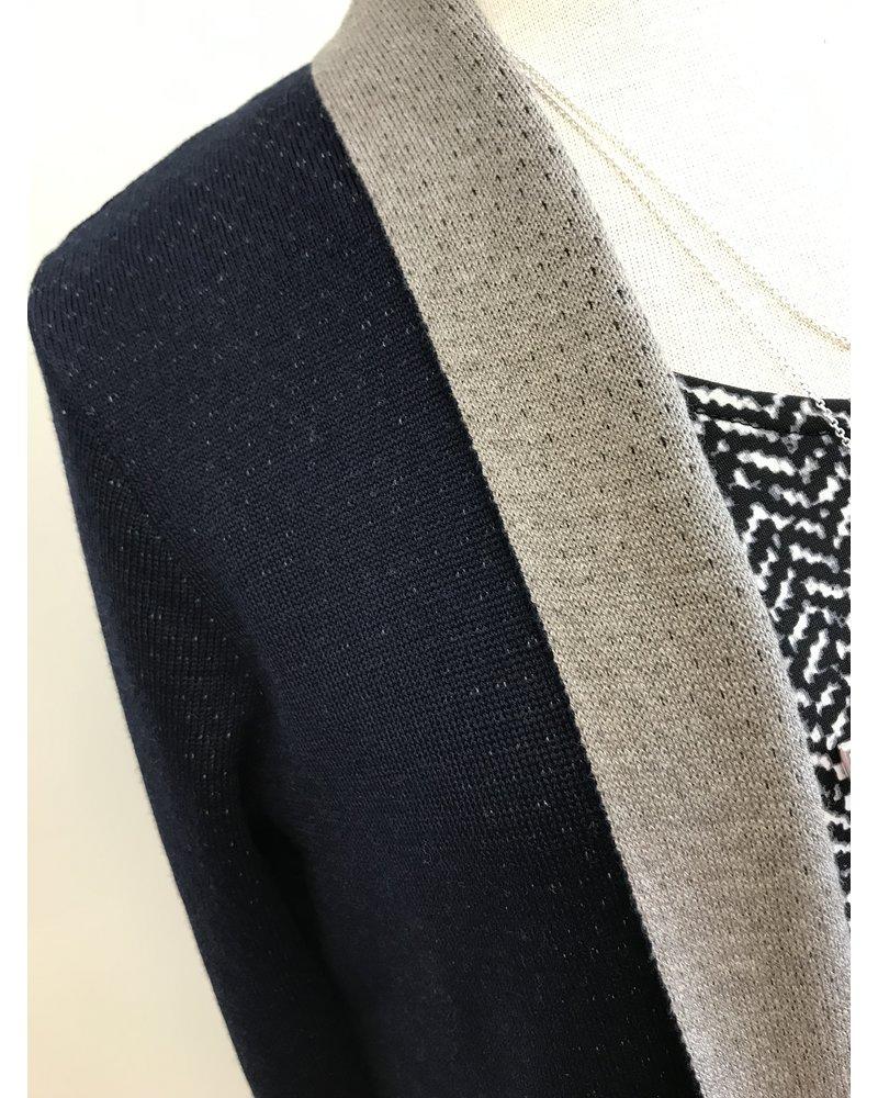 Skovhuus Skovhuus Pointelle Double Knit Cardigan