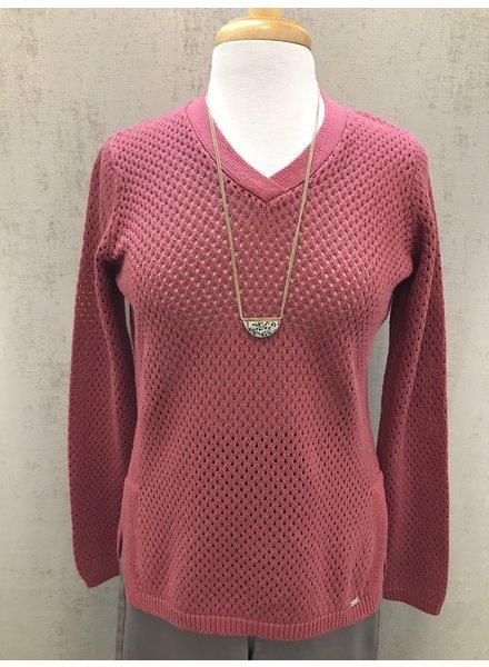 FDJ Mesh Stitch Sweater