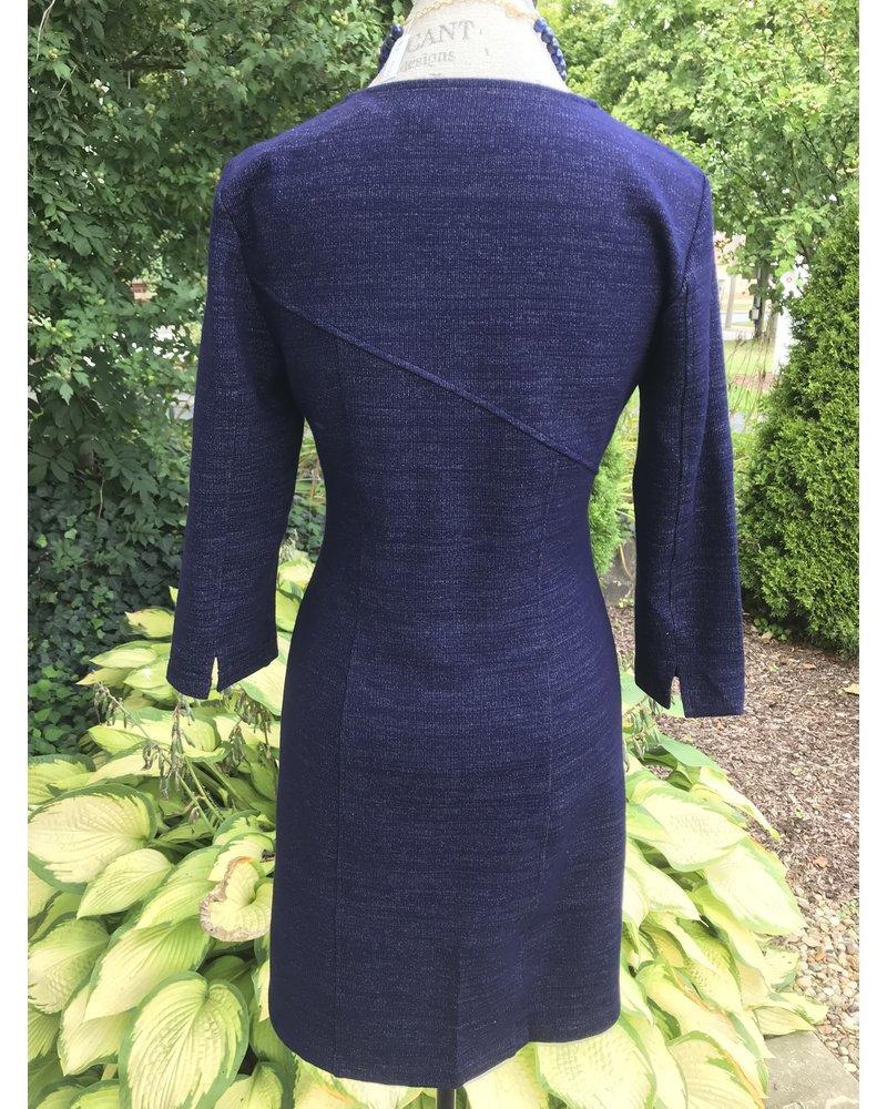 209 West 209 V-Neck Knit Dress