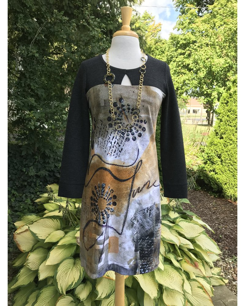 Dolcezza Dolcezza Quilled Art Print Dress
