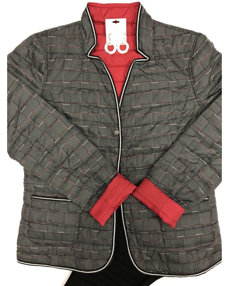 Katherine Barclay Reversible Plaid Jacket