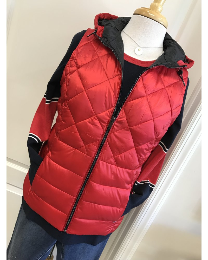 FDJ I Move Hooded Quilted Vest