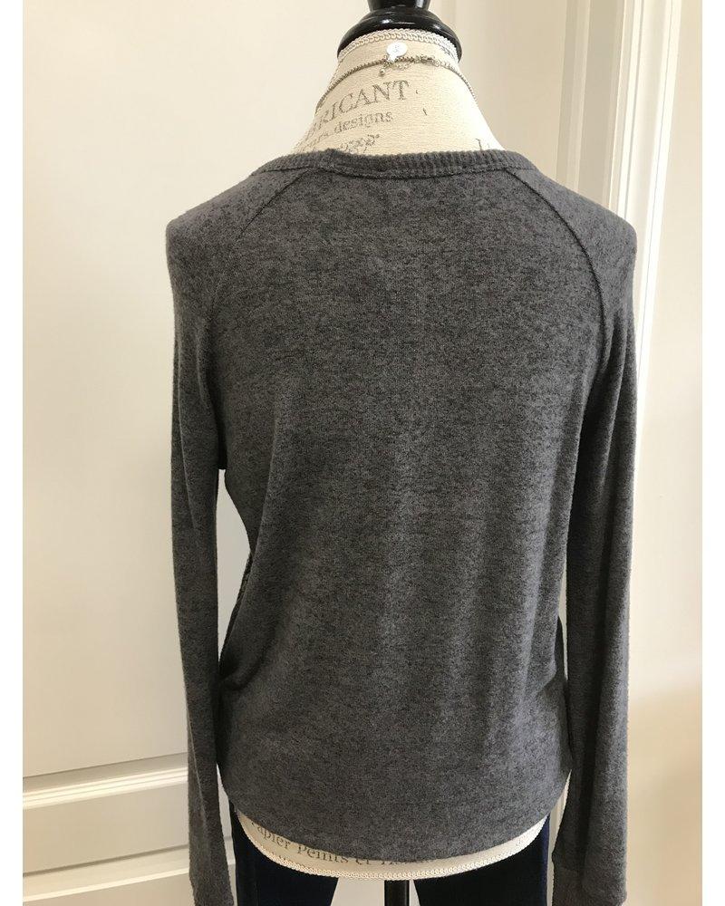 COA Coa Lace Front Pullover