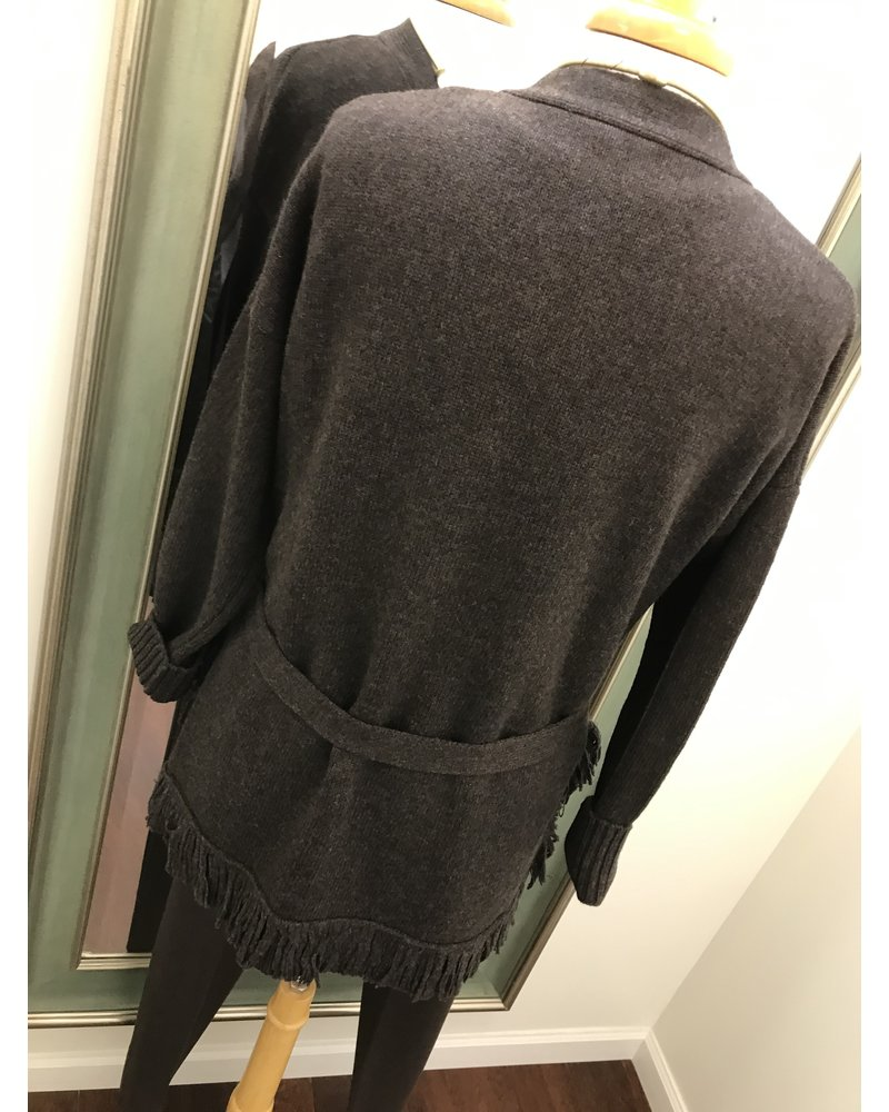 Elliott Lauren Elliott Lauren Wrap Cardigan Sweater