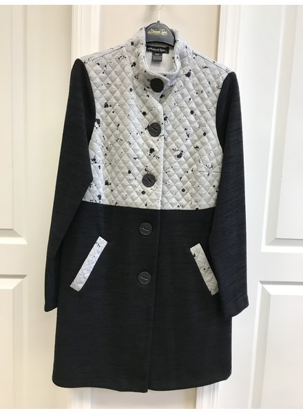 Michael Tyler Quilted Bodice Coat