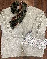 Sisters Popcorn Stitch Sweater