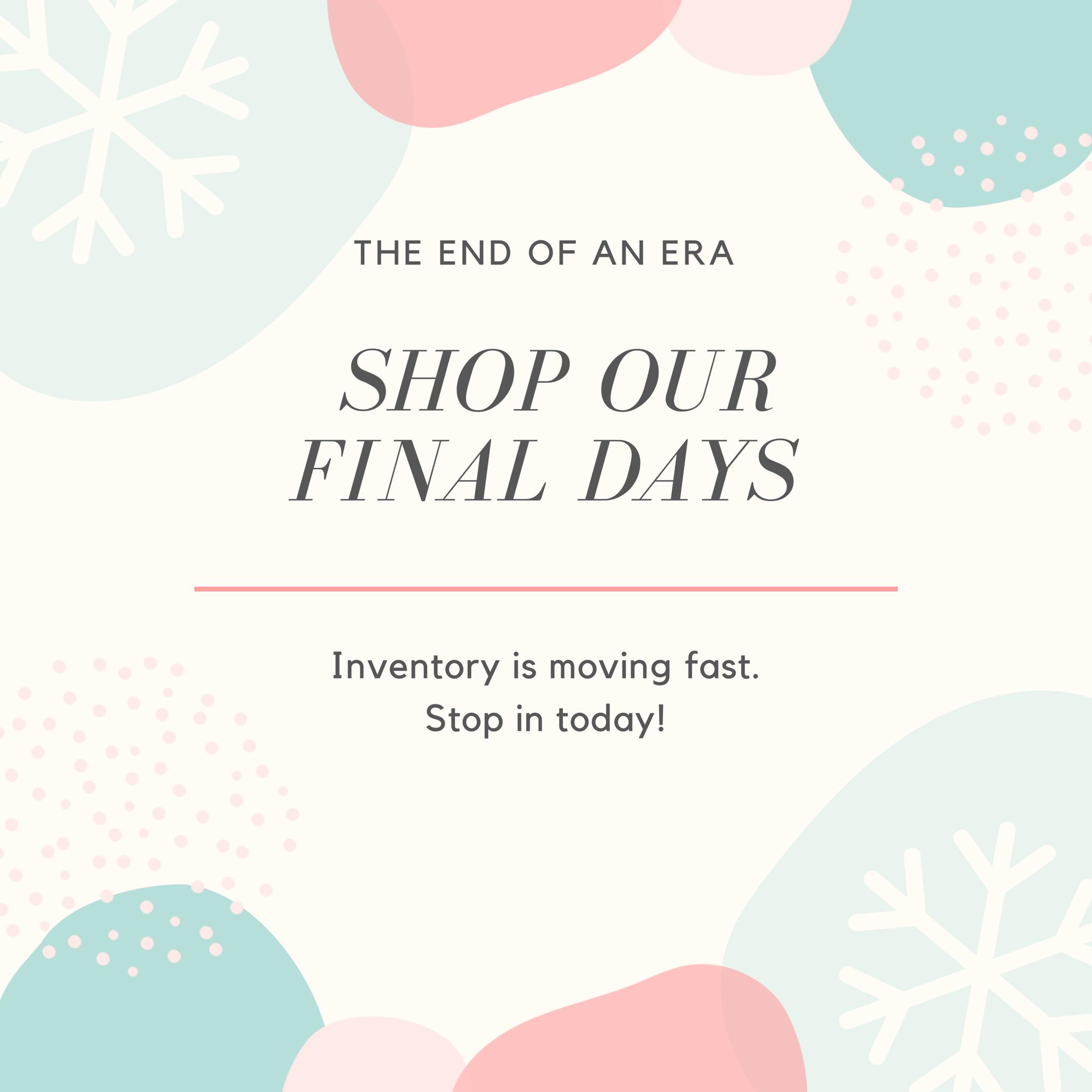End of Era