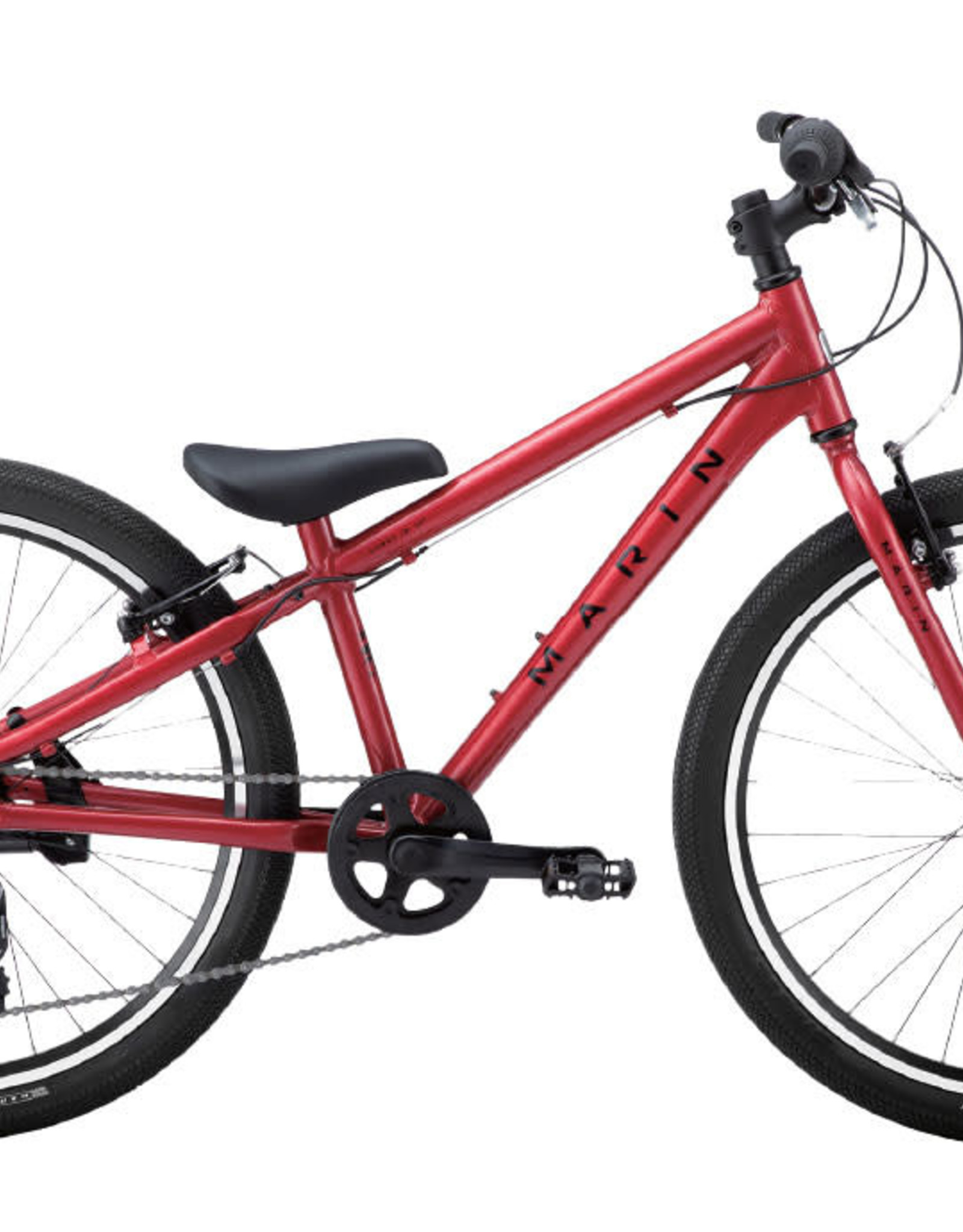 """Marin DONKY JR 24"""" Matte Red/Black One"""