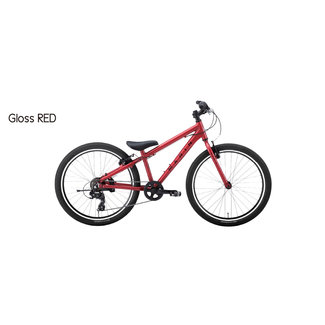 "Marin DONKY JR 24"" Matte Red/Black One"
