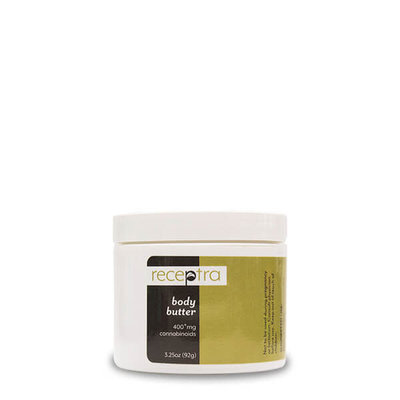 Receptra Receptra Body Butter 3.25oz (400mg/jar)