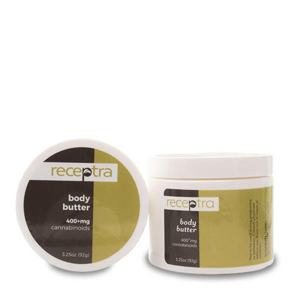 Receptra Receptra Body Butter 3.25oz (400mg/jar)