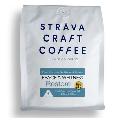Sträva Craft Coffee Sträva Craft Peace & Wellness RESTORE Hemp Infused Coffee 12oz