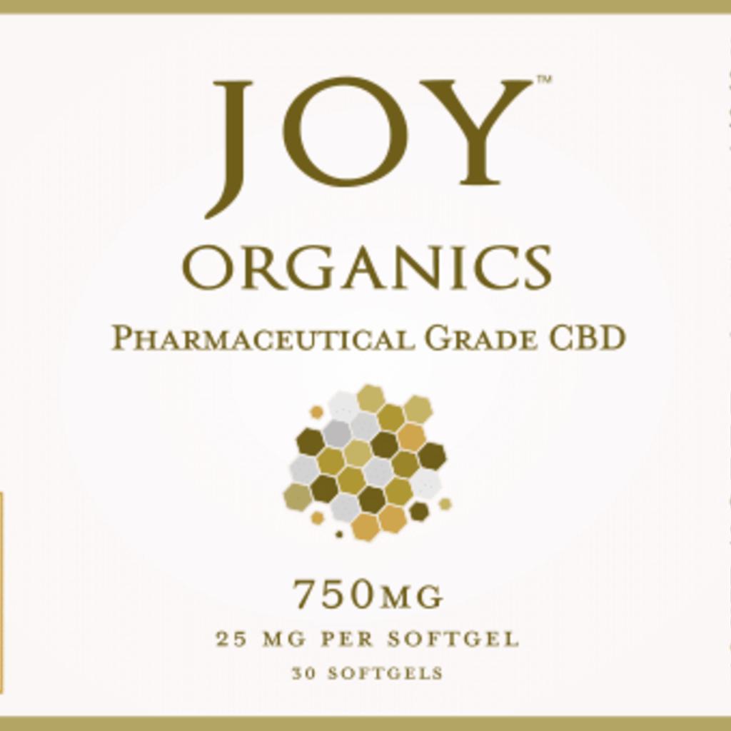 Joy Organics JOY 25mg Softgels