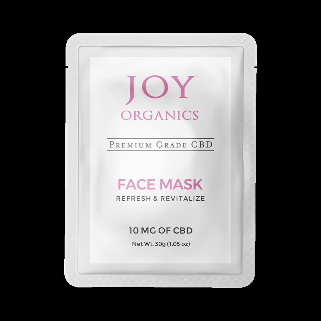 Joy Organics Joy Organics CBD Face Mask (10mg)