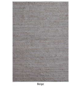 Florabelle Stables Rug leather & jute