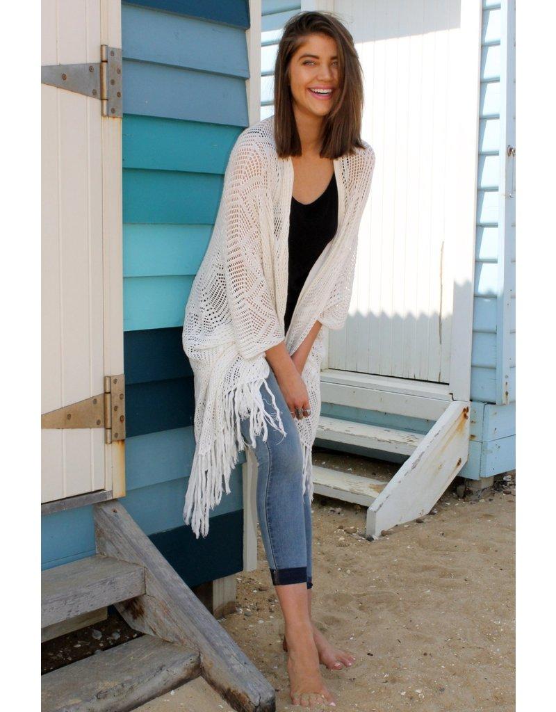 Bijour Astra Kimono Beige