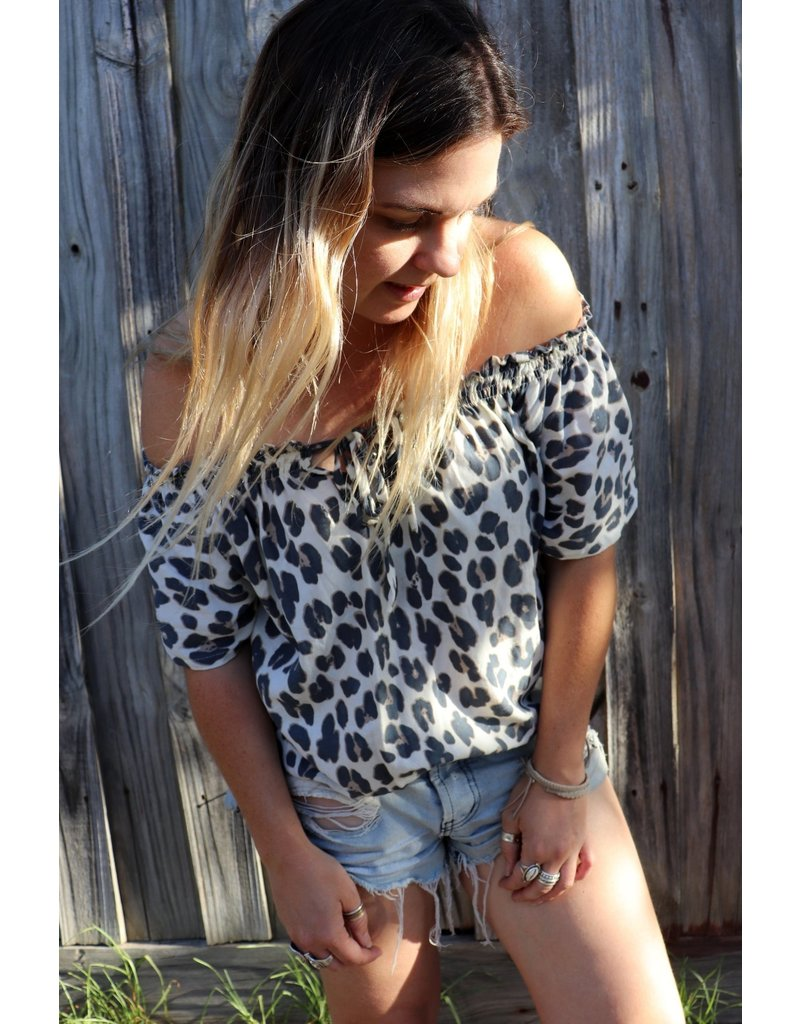Bijour Savannah Top Wild Thing