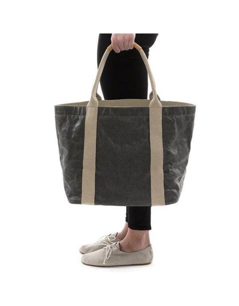 UASHMAMA Luxe Paper Shopper Dark Grey