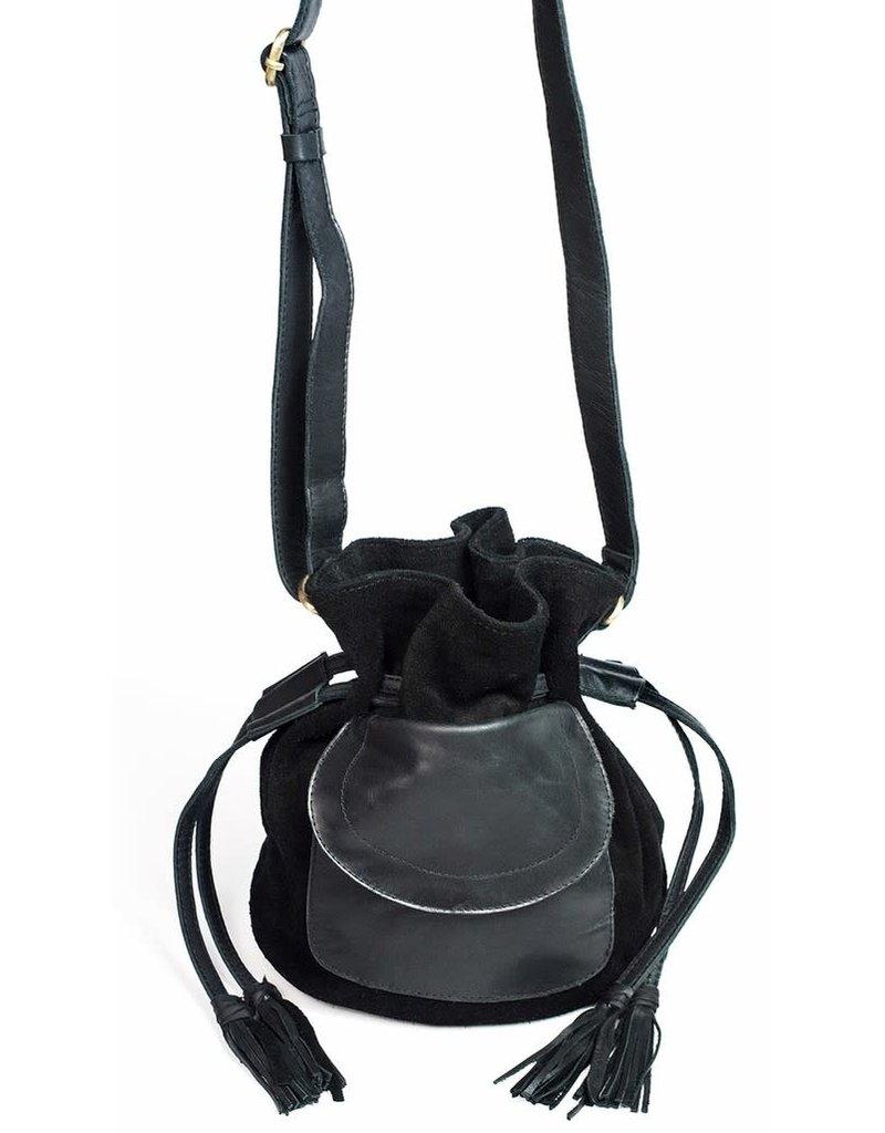 Little Edie Handbag Black