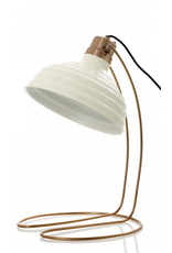 Emac and Lawson Bundaberg Desk Lamp In White