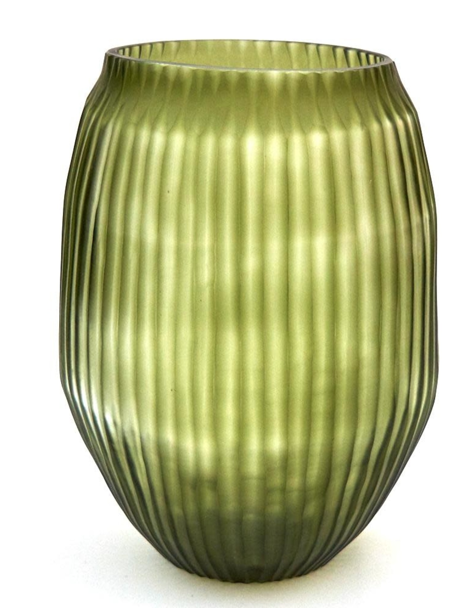 Brisonhome Brian Tunks Cut Glass Vase Medium