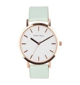 Shiny Rose Mint Watch