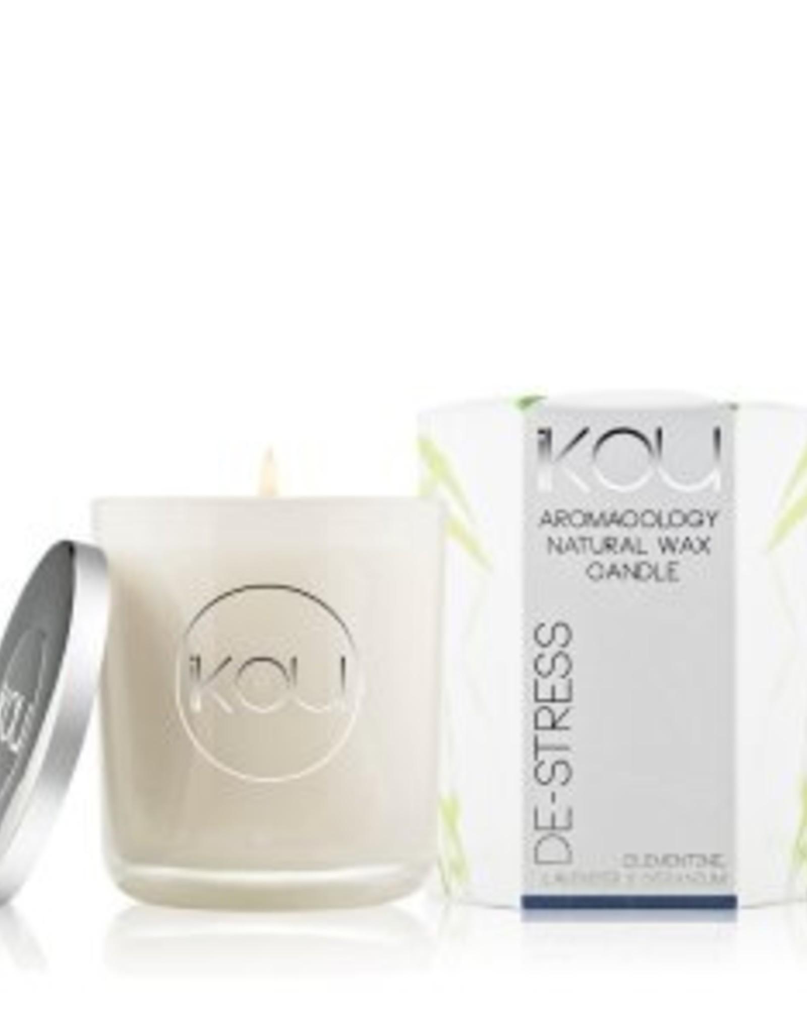IKOU De-Stress, Glass Candles