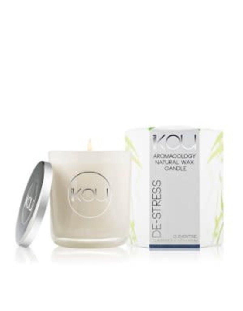 IKOU Eco-Luxury Candles Glass De-Stress