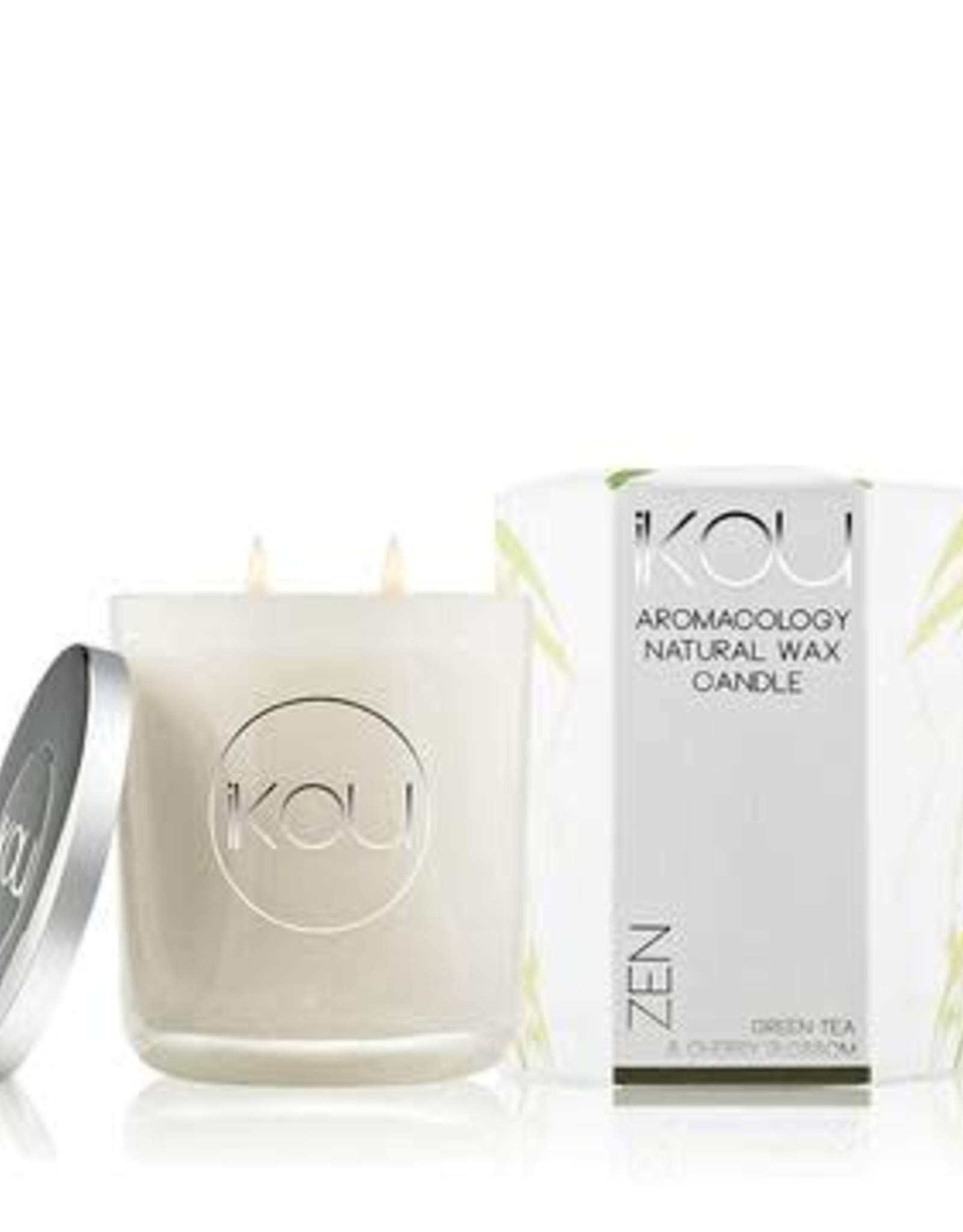 Eco-Luxury Candles Glass ZEN