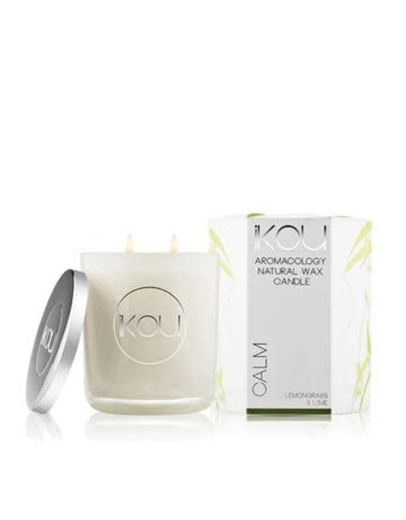 IKOU Eco-Luxury Candles Glass Calm
