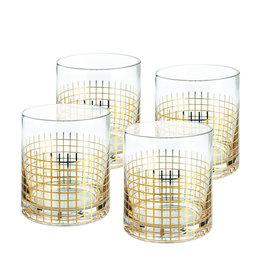 Manhattan Whisky Tumbler set of 4