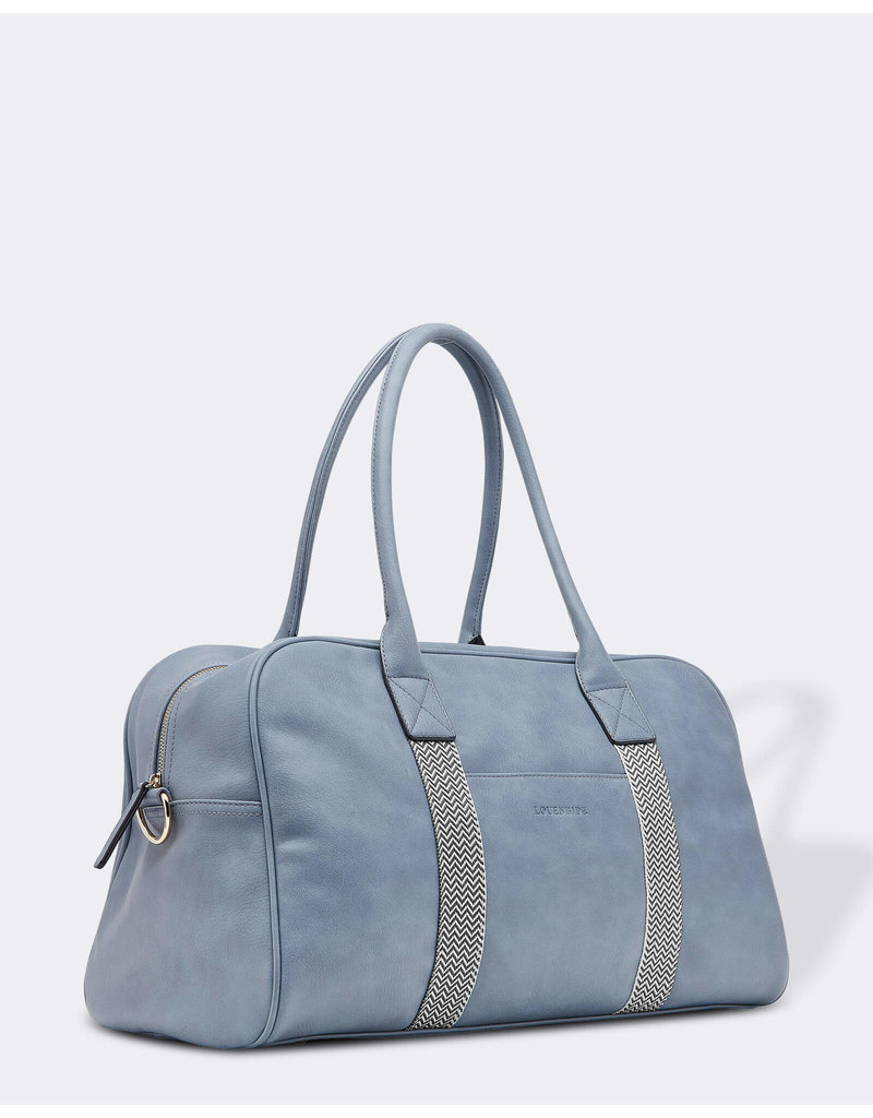 Louenhide Hickory Denim Travel Bag
