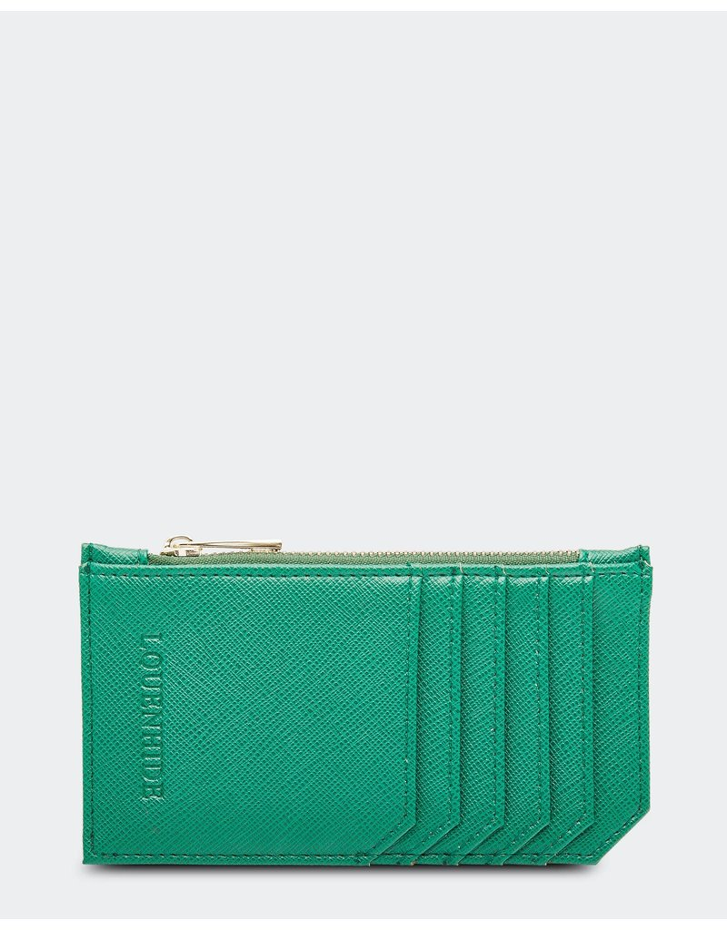 Louenhide Tia Hatch Light Green Card Holder