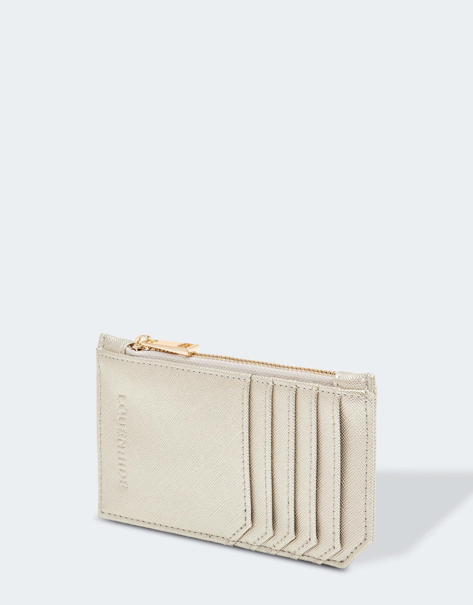 Tia Hatch Silver Card Holder