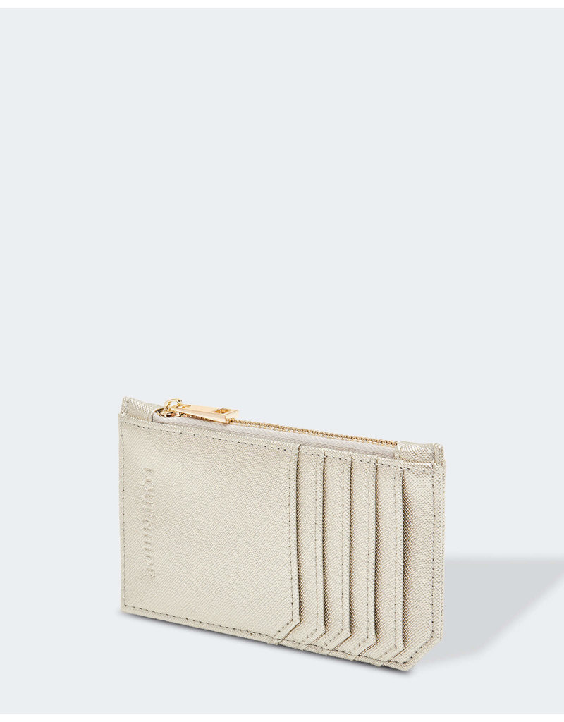 Louenhide Tia Hatch Silver Card Holder