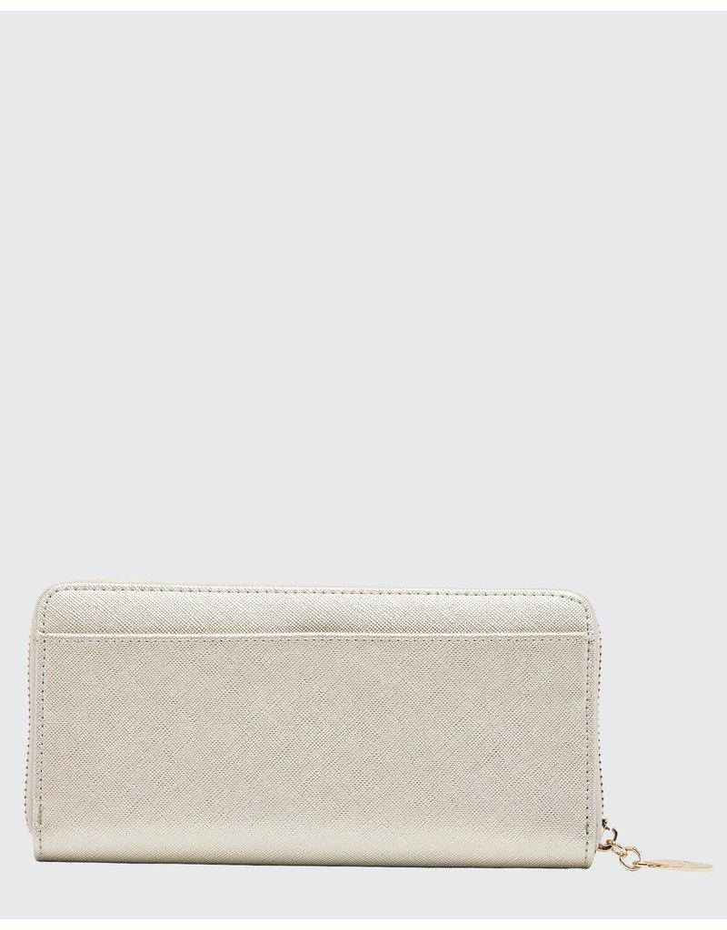 Louenhide Ricky Hatch Silver Wallet