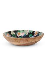 Mangowood Salad Bowl – Dark Lily 30x30cm