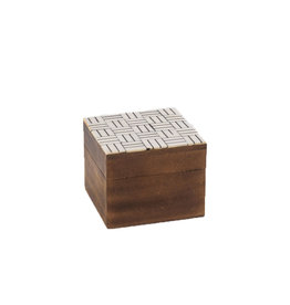 Horgans Natural & Black Bone Top Square Box