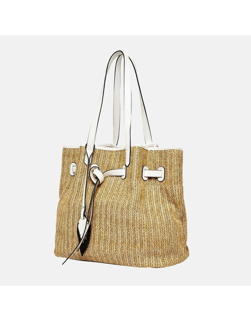 Urban Originals Wild Flower Tote Beige