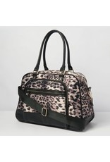Urban Originals Moon Nylon Overnighter Leopard