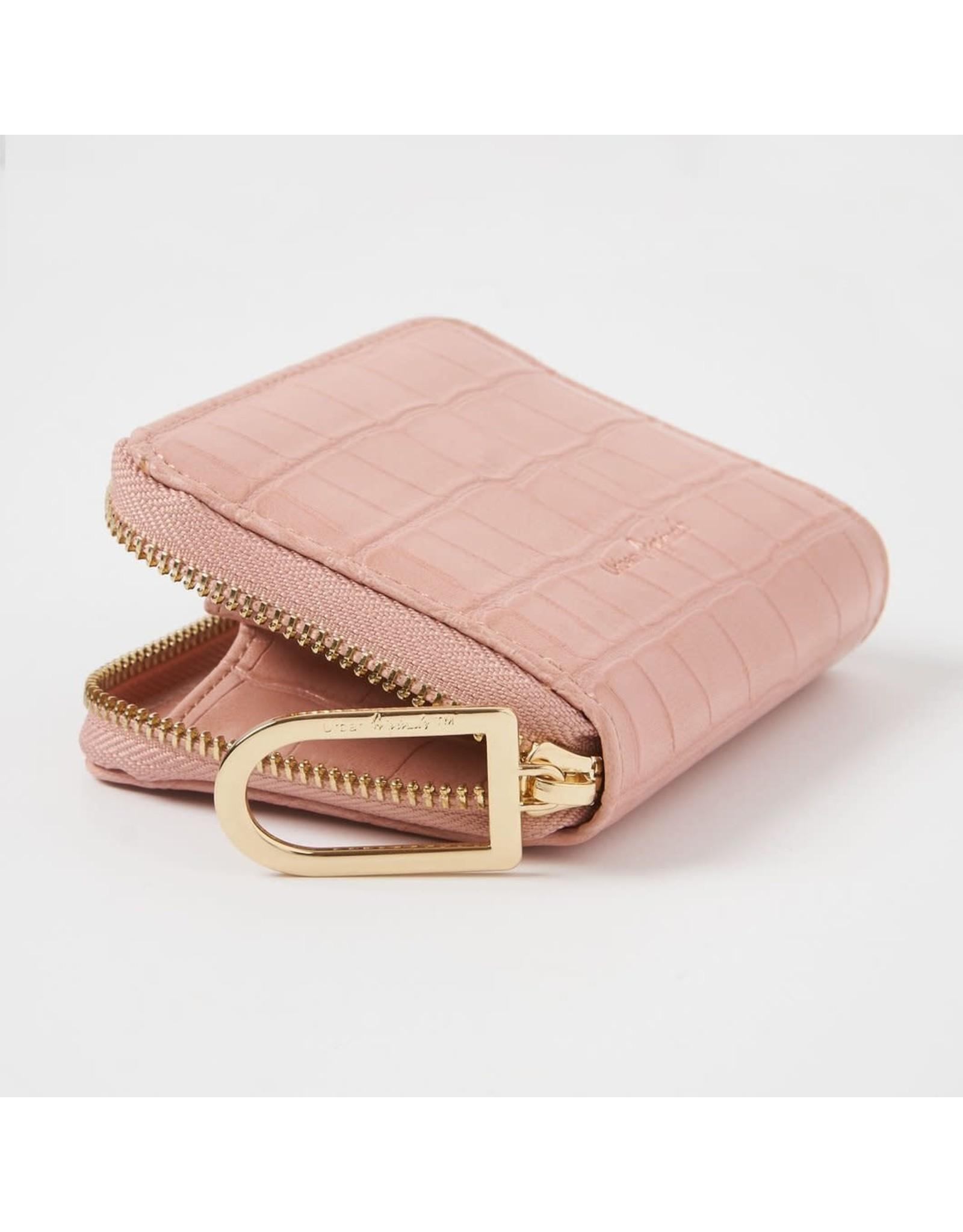 Urban Originals Essentials Pink Croc Wallet